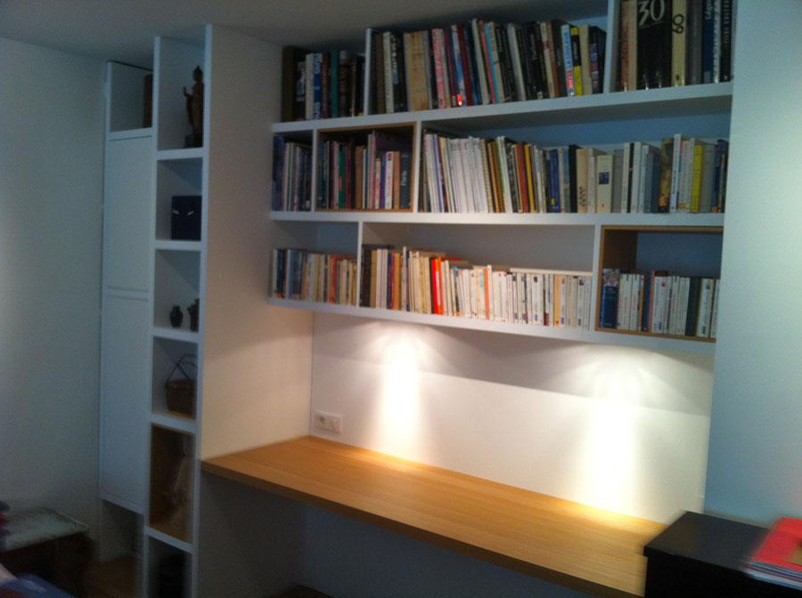 Paris ranelagh 2012 yves jaffr agencements - Amenagement bibliotheque bureau ...