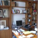 Bureau en Iroko.