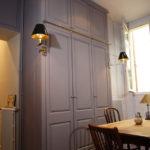 Armoire de cuisine sur mesure en Médium peint