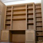 Bureau Bibliothèque en Médium à peindre