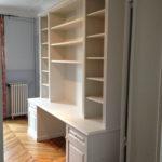 bureau bibliotheque sur mesure Paris Yves Jaffré