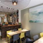 Intérieur restaurant fabrique de bouchon