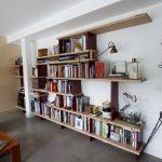 Bibliothèque en Baubuche 3/4 droit