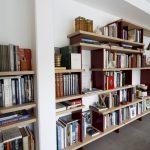 Bibliothèque en Baubuche 3/4 gauche